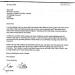 Letter from Kate Smith, a Matol customer.
