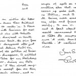 Letter from Matol customer suffering from Psoriasis